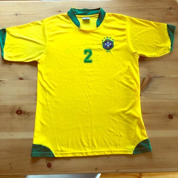 Vintage 2006 Brazil World Cup soccer jersey shirt